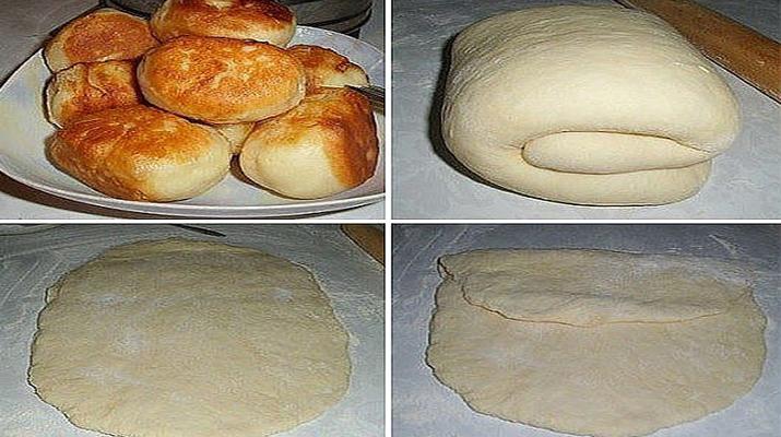 Тесто на пирожки с пошагово