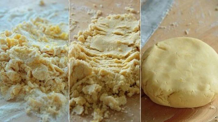 Рецепт песочного теста в домашних условиях с фото